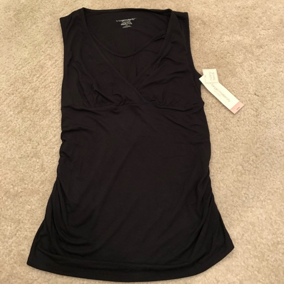 2bb4dbdbd46c1 Liz Lange for Target Tops | Liz Lange Maternity Black Nursing ...